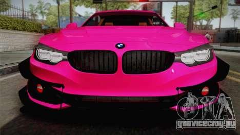 BMW 435i для GTA San Andreas вид справа