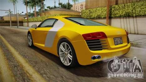 Audi Le Mans Quattro 2005 v1.0.0 для GTA San Andreas вид слева