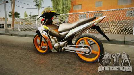 Honda RS150 Repsol Version для GTA San Andreas вид слева