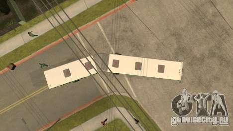 ЛиАЗ-6212 для GTA San Andreas вид сзади