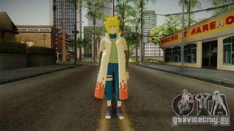Minato Hokage Outfit для GTA San Andreas второй скриншот