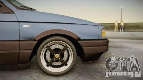 Volkswagen Passat B3 2.0 для GTA San Andreas вид сзади слева
