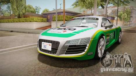 Audi Le Mans Quattro 2005 v1.0.0 Dirt для GTA San Andreas вид сбоку