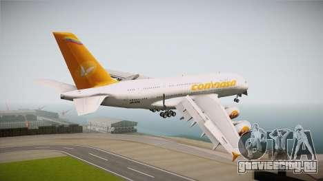 Airbus A380-861 Conviasa для GTA San Andreas вид справа
