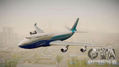 Boeing 747-400 House для GTA San Andreas