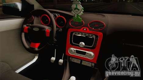 Ford Focus Sedan Air для GTA San Andreas вид изнутри