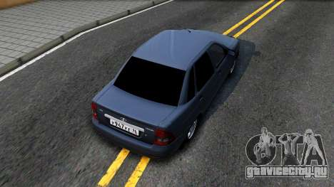 ВАЗ 2170 V3 для GTA San Andreas вид сзади