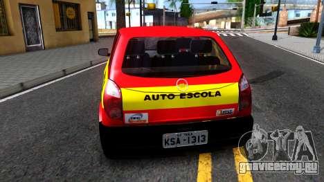 Chevrolet Celta для GTA San Andreas вид сзади слева
