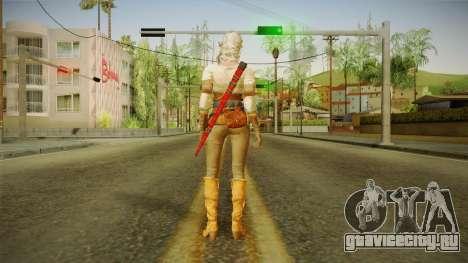 Witcher 3 - Ciri для GTA San Andreas третий скриншот