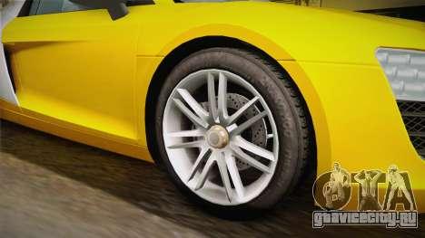 Audi Le Mans Quattro 2005 v1.0.0 для GTA San Andreas вид сзади