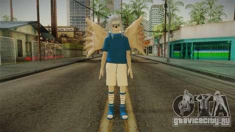 NUNS4 - Sasuke Genin Curse Mark 2 для GTA San Andreas второй скриншот