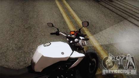 Yamaha XJ6 2013 для GTA San Andreas вид сзади слева