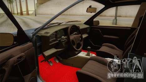 Volkswagen Passat B3 2.0 для GTA San Andreas вид изнутри