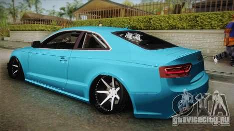 Audi RS5 Stance для GTA San Andreas вид слева