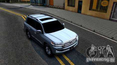 Toyota Land Cruiser 200 2016 PML Edition для GTA San Andreas вид справа