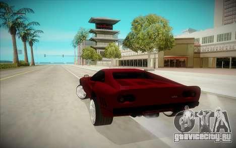 Ferrari F-512 для GTA San Andreas вид сзади слева