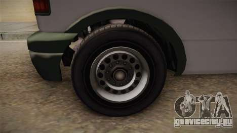 GTA 5 Declasse Burrito News для GTA San Andreas вид сзади