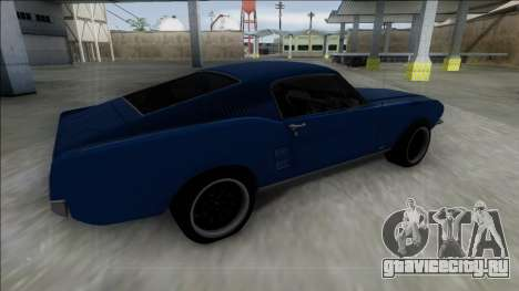 1967 Ford Mustang для GTA San Andreas вид слева