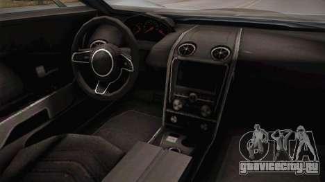 GTA 5 Vapid FMJ Roadster для GTA San Andreas вид сзади