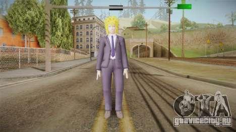 Minato Business Suit для GTA San Andreas второй скриншот