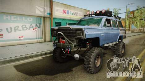 Jeep Wagoneer Off Road для GTA San Andreas