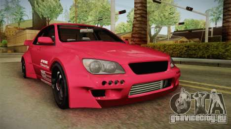 Lexus IS300 Rocket Bunny для GTA San Andreas вид сзади слева