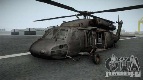 CoD 4: MW - UH-60 Blackhawk RAF Remastered для GTA San Andreas