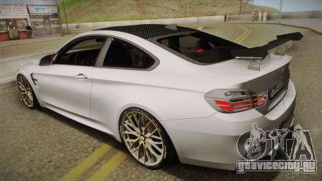 BMW M4 F82 2014 для GTA San Andreas вид слева
