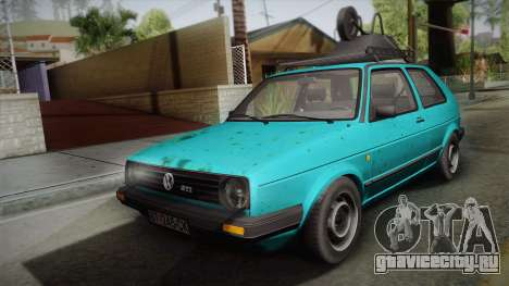 Volkswagen Golf Mk2 1991 для GTA San Andreas