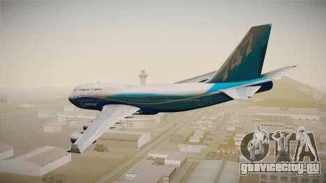 Boeing 747-400 House для GTA San Andreas вид слева
