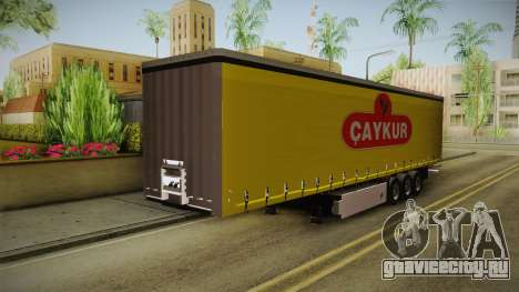 Caykur Trailer для GTA San Andreas вид сзади слева