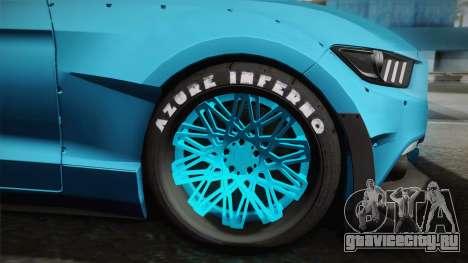 Ford Mustang GT Premium HPE750 Boss для GTA San Andreas вид сзади слева