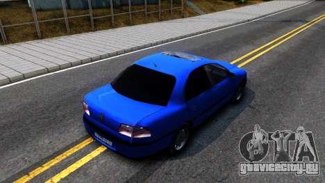 Opel Omega B 1998 для GTA San Andreas вид сзади