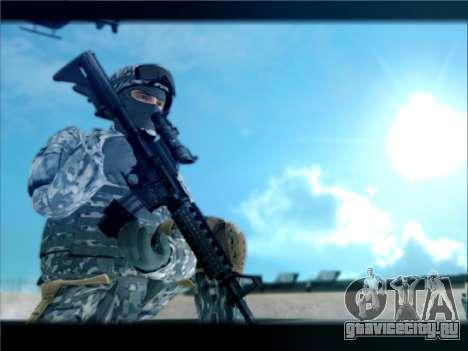 New Military USA Skin для GTA San Andreas второй скриншот