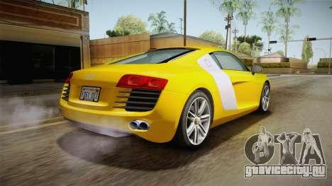 Audi Le Mans Quattro 2005 v1.0.0 для GTA San Andreas вид сзади слева