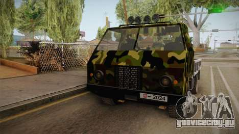 TAM 110 Vojno Vozilo v2 для GTA San Andreas