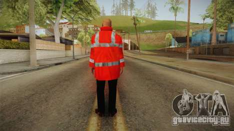 PES2016 - NPC Security v3 для GTA San Andreas третий скриншот