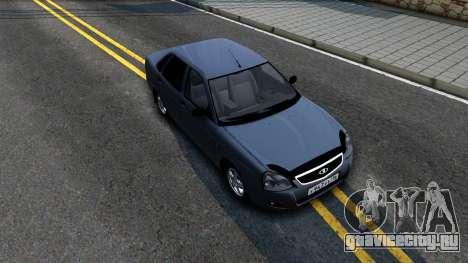ВАЗ 2170 V3 для GTA San Andreas вид справа
