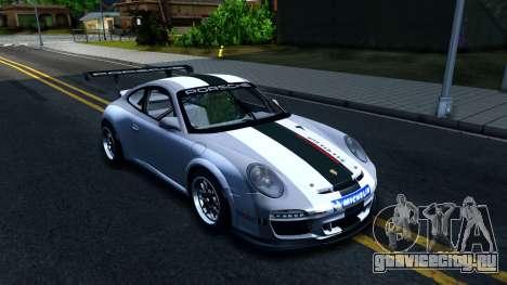 Porsche 911 GT3 Cup для GTA San Andreas вид изнутри