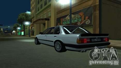 BMW 325i E30 для GTA San Andreas вид слева