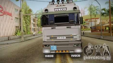 Iveco Eurotech 400E34 Tandem v2.0 для GTA San Andreas вид справа