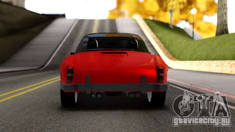Mercedes 190 S для GTA San Andreas вид справа