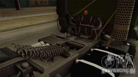Iveco Trakker Hi-Land 6x4 Cab High v3.0 для GTA San Andreas вид сбоку