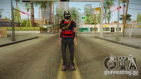 Skin Napoleon для GTA San Andreas второй скриншот