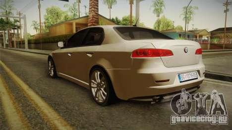 Alfa Romeo 159 для GTA San Andreas вид сзади слева