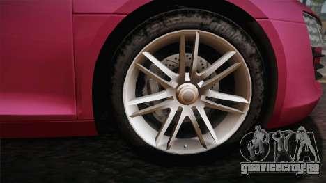 Audi Le Mans Quattro 2005 v1.0.0 PJ для GTA San Andreas вид сзади слева