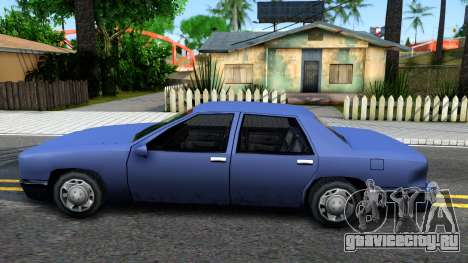 Restyle Elegant для GTA San Andreas вид слева