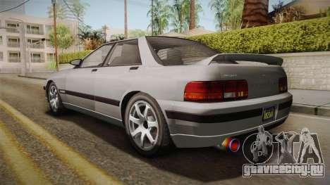 GTA 5 Zirconium Stratum Sedan для GTA San Andreas вид слева
