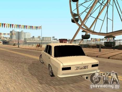 VAZ 2101 Аrmenian для GTA San Andreas вид сзади слева