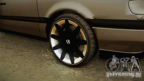 Volkswagen Passat B4 2.0 для GTA San Andreas вид сзади